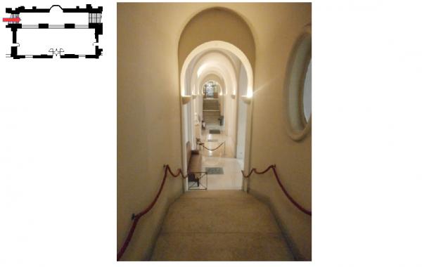 Aile du midi - Sous sol - 17 Couloir