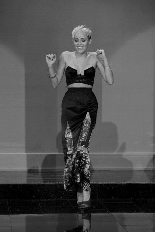 Nouvelle coupe de Miley !