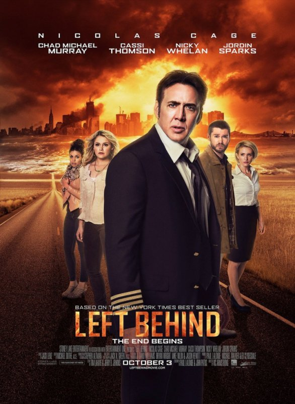 "Film ""Left Behind"" Le Chaos 2014."