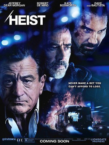 "Film ""Heist"" Bus 657."
