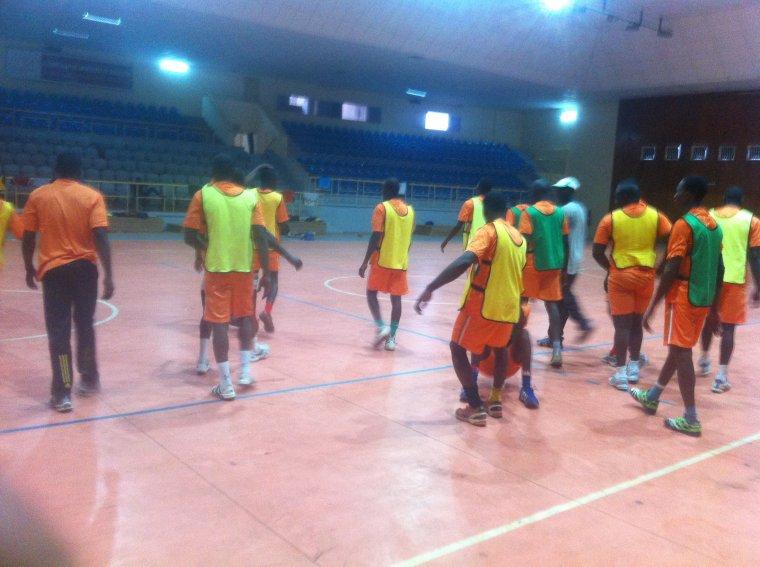 l'équipe nationale de handball pour un défi