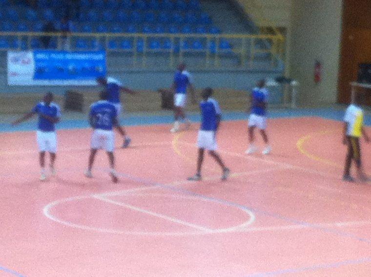tournoi challenge trophée a Lomé au Togo, l'équipe nationale a battu en amicale l'as stade
