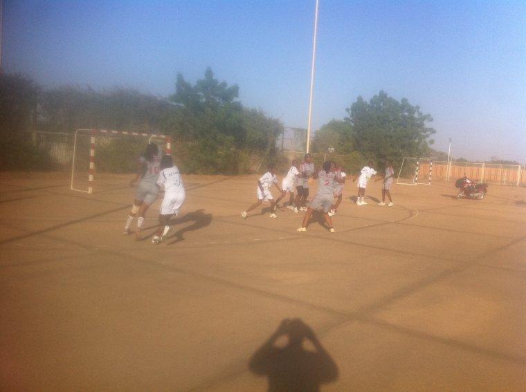 tournoi de handball à Niamey
