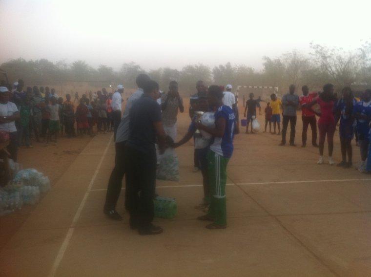 Les jeunes filles de LABAN remportent leur deuxième titre