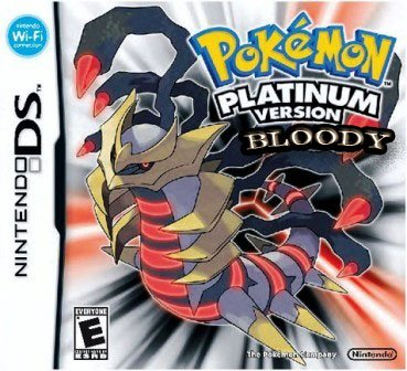JEU VIDEO : Pokémon Version Bloody Platinum