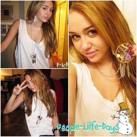 Miley fait la pub d'une bijouterie
