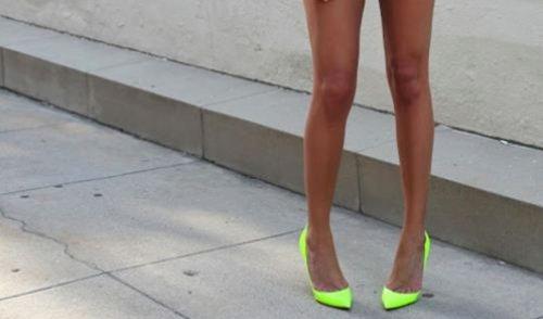 Des jambes de mannequins pour cette été