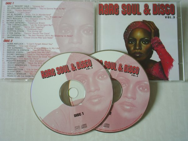Rare Soul & Disco Volume 3 (Double CD)