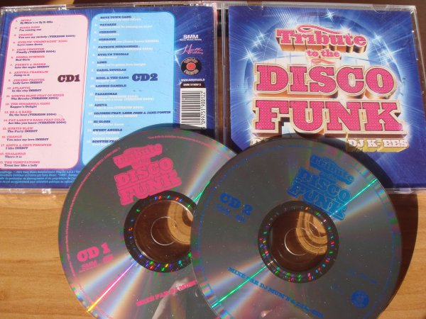 Tribute To The Disco Funk 2004 CD mixtape