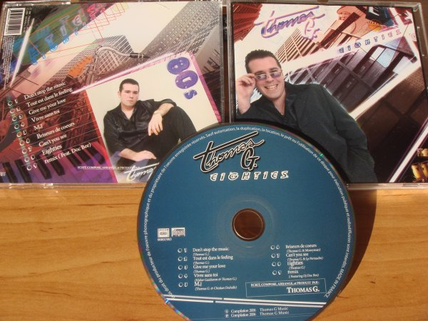 Thomas G 2006 Eighties cd