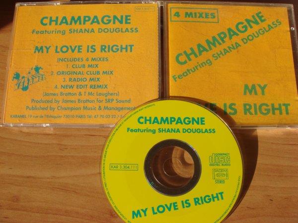 champagne featuring shana douglass