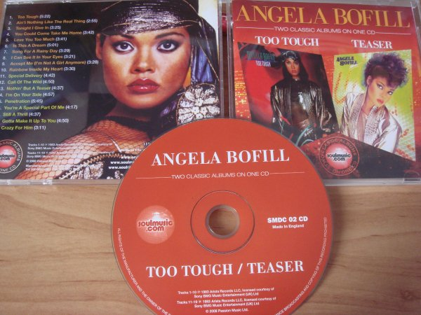 Angela Bofill 1983 Too Tough/Teaser CD