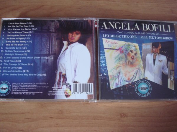 Angela Bofill 1984/1985 Let Me Be The One / Tell Me Tomorrow