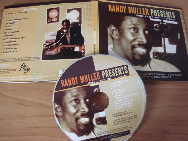 Randy Muller Presents UNRELEASED VOL 1 (1978-85)