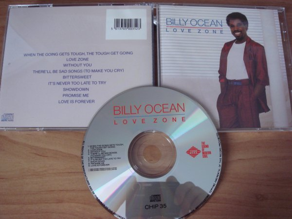 Billy Ocean 1986 Love Zone