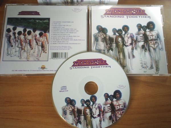 MIDNIGHT STAR 1981 Standing Together UNIDISC