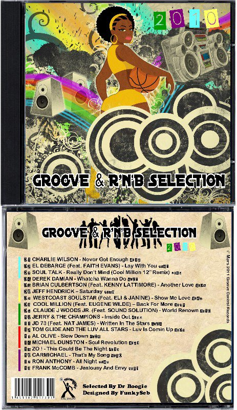 GROOVE & R'n'B SELECTION 2010 - Selected by Dr BOOGIE