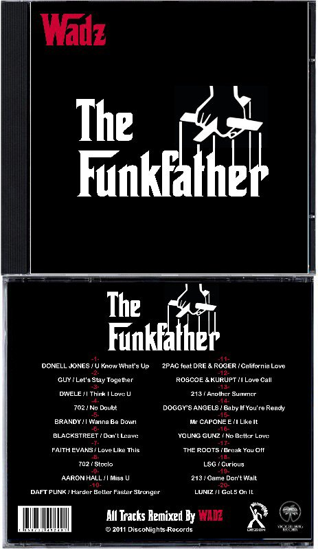 WADZ - The FunkFather (CD)
