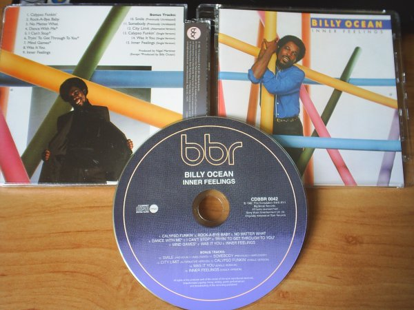 Billy Ocean 1982 Inner Feeling [Expanded Version] - BBR records 2011