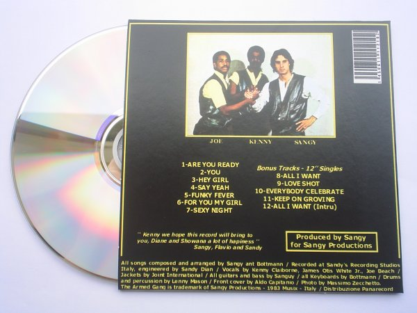 Kenny Claiborne and The Armed Gang 1983 CD papersleeve edition
