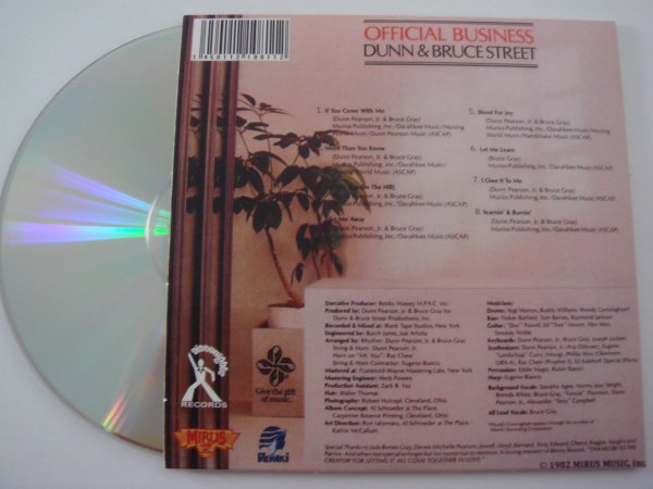dunn & bruce street official business CD