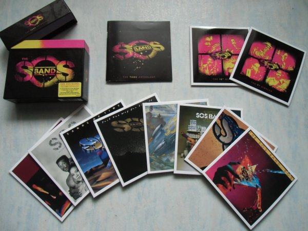 SOS BAND Tabu Anthology Box l'intégrale 1980-1991