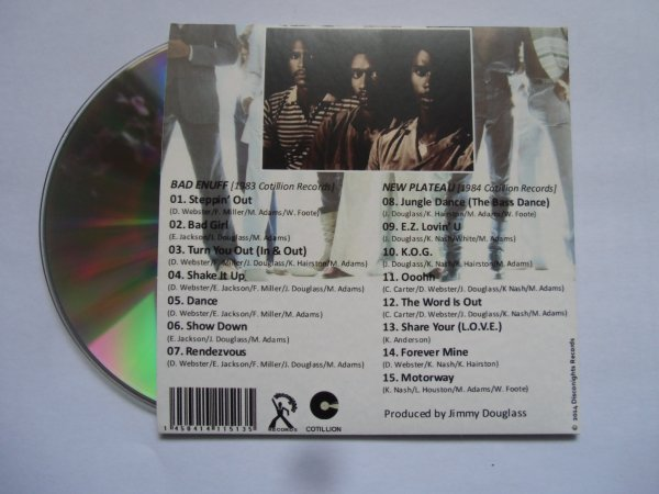 Slave 1983/1984 Bad Enuff / New Plateau 2 Classic Albums on 1 CD