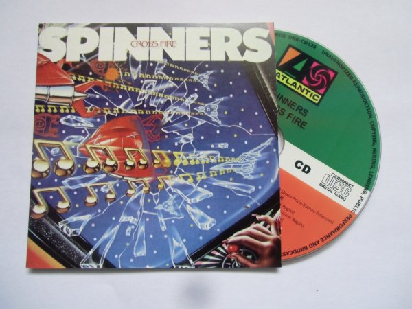 The Spinners 1984 Cross Fire Papersleeve CD