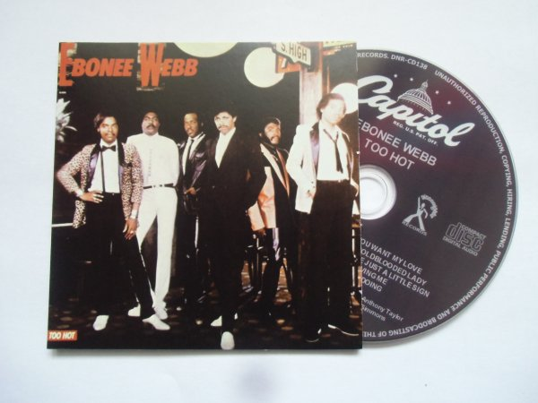 Ebonee Webb 1983 Too Hot (Papersleeve CD)