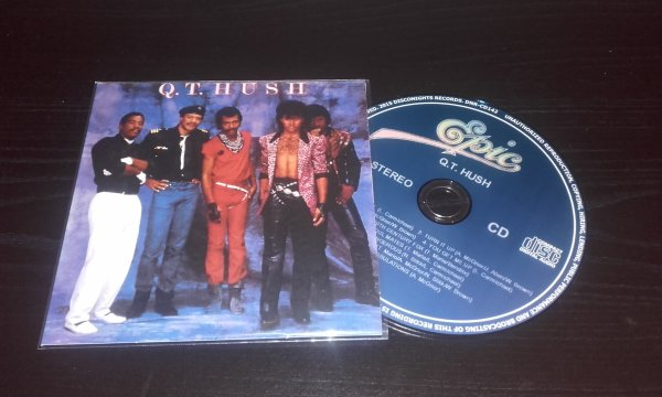 QT Hush 1985 Same CD Papersleeve