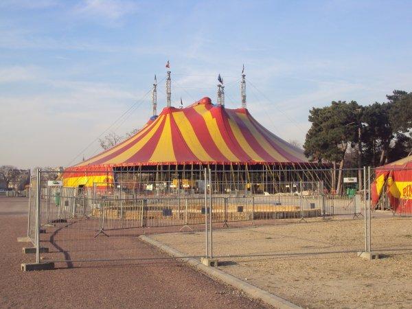 Cirque pinder a paris