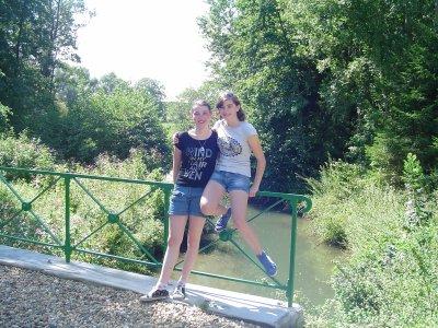 Avec ma soeur adorée