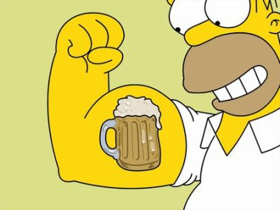 THE SIMPSON * HOMER Y LOVE YOU BEER !!!