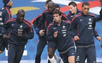 Hoarau et Sakho au Stade de France