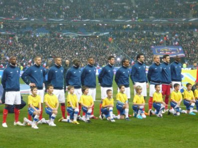 La France s'impose (1-0) face au Bresil