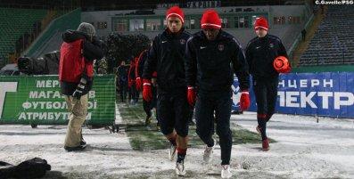 Paris se prépare à l'hiver biélorusse