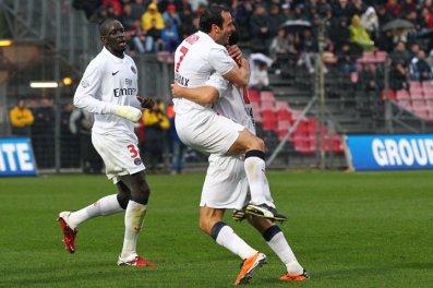 Nice-PSG : 0-3