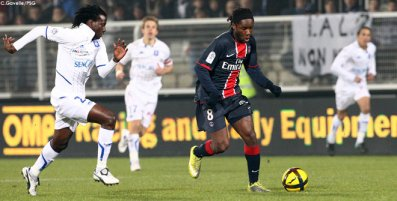 Auxerre-PSG : 1-0