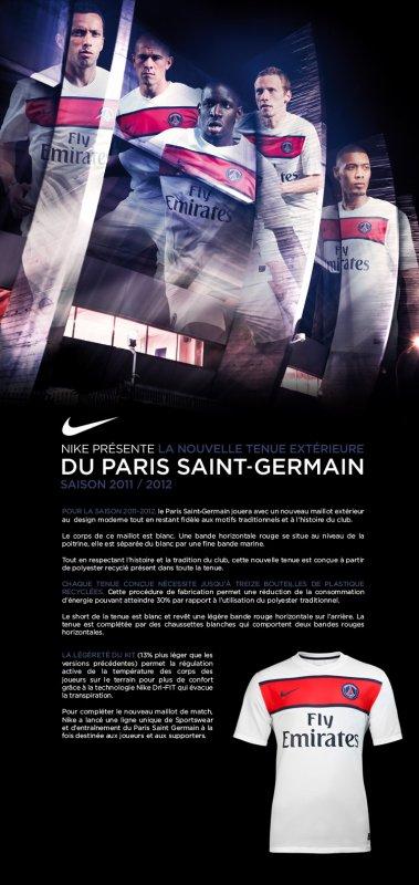 *** NEW MAILLOT EXTERIEUR DU PARIS SAINT GERMAIN ***