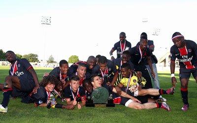 Les U17 champions de France !
