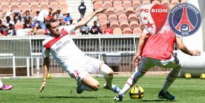 Le FC Sion, premier adversaire du PSG