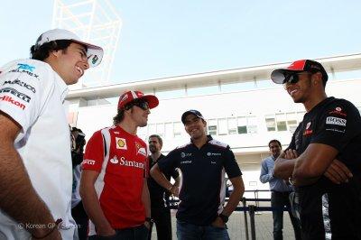 Sergio,Fernando,Pastor et Lewis