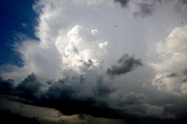 cumulos nimbus du 28 juin 2012