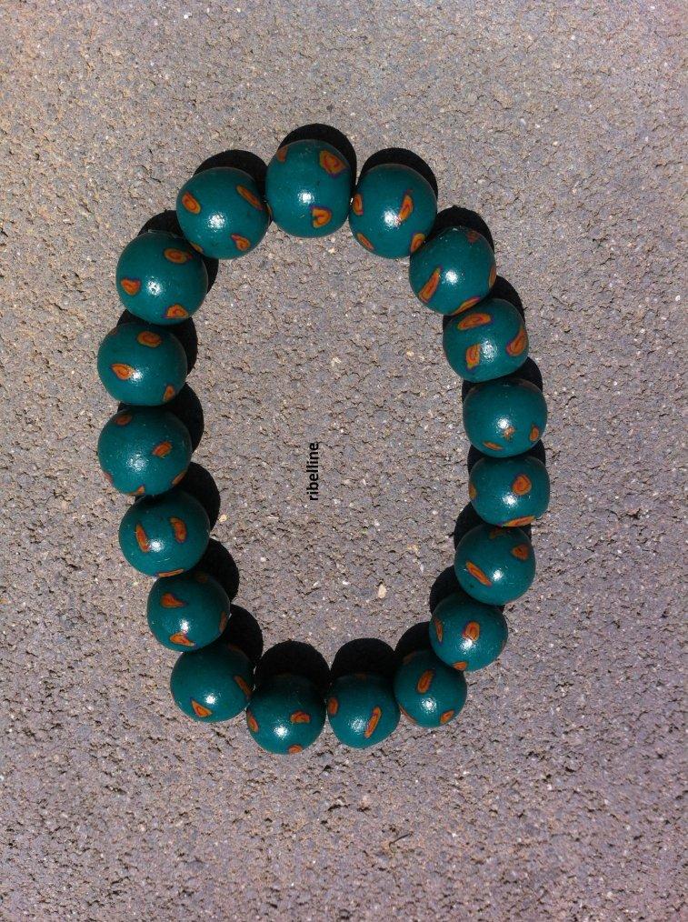 voici  créations du bracelet 4 et 5 ^^
