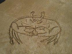 Dessins dans le sable (1)