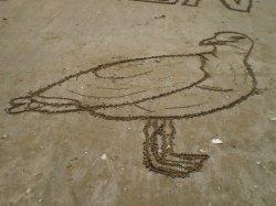 Dessins dans le sable (2)