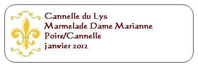 DAME Marianne....