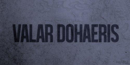 Chapitre 1 : Valar Dohaerys (Partie 1)