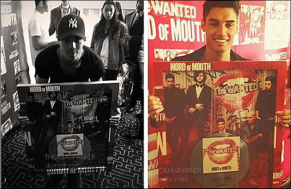 """. 31 Octobre :  L'album """" Word Of Mouth """" du groupe a était certifié disque de platine au Mexique!   Il a donc était vendu a plus de 60 000 exemplaires. Félicitation à eux!  ."""