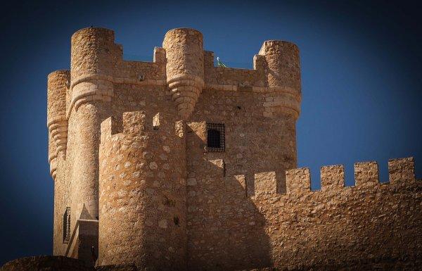 Le château du roi fée.